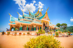 temple on mountain Royalty Free Stock Image