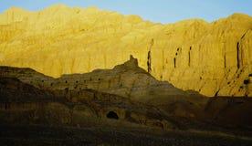 Temple on mountains Stock Photo