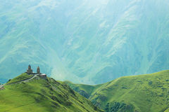 Temple in the mountains Royalty Free Stock Photos