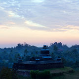 Temple in Mrauk U Archaeological Zone, Myanmar Stock Images