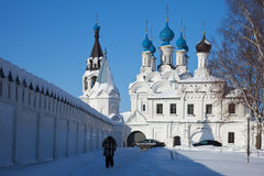 Temple at Murom  in winter. Russia Stock Photos