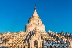 Mya Thein Tan pagoda Min Kun Mingun Mandalay sagaing Myanmar. Temple Mya Thein Tan pagoda of Min Kun or Mingun near Mandalay and sagaing Myanmar Burma royalty free stock photo
