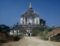 Temple,Myanmar. Stone Temple in Bagan Area,Myanmar Royalty Free Stock Photos