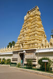Temple of Mysore palace in India stock image