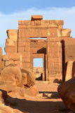 Temple of Naga in the Sahara of Sudan Royalty Free Stock Photography