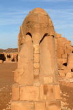Temple of Naga in the Sahara of Sudan Stock Photos