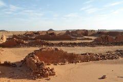 Temple of Naga in the Sahara of Sudan Royalty Free Stock Image