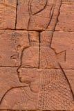 Temple of Naga in the Sahara of Sudan Royalty Free Stock Photos