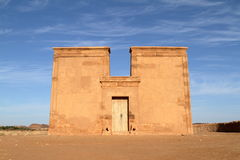 Temple of Naga in the Sahara of Sudan Stock Photography