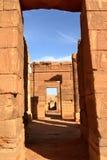 Temple of Naga in the Sahara of Sudan Royalty Free Stock Photo