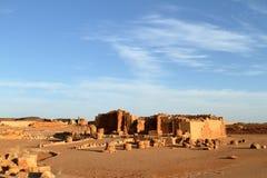 Temple of Naga in the Sahara of Sudan Stock Photo