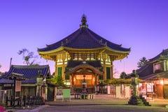 Temple à Nara Photos stock