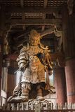 Temple Nara Japan de Dai-JI de  du gardien TÅ de Komokuten photos stock