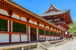 Temple in Nara, Japan Royalty Free Stock Photography
