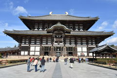 Temple Nara, Japon de Todaiji photo libre de droits