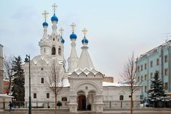 Temple of the Nativity of the Blessed Virgin Mary. Moscow, Russi Royalty Free Stock Photography
