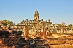 Temple near angkor wat Stock Photography