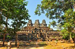 Temple near angkor wat Stock Photos