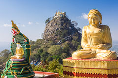 Free Temple Near Mt. Popa Stock Image - 68372531