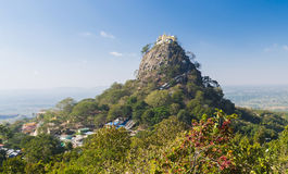 Free Temple Near Mt. Popa Stock Image - 68378571