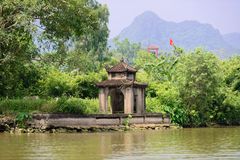 Temple near Perfume Pagoda, Vietnam Stock Images