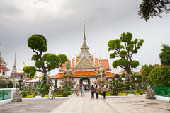 Temple near Wat Arun in Bangkok Royalty Free Stock Image