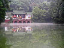 A Temple near the water Stock Images