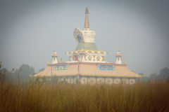 Temple in Nepal Stock Image