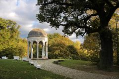 Temple on the Neroberg in Wiesbaden Stock Image