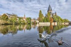 Temple Neuf de Metz, Metz, Lorraine, France Royalty Free Stock Images
