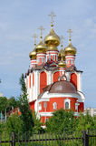Temple  new martyrs and confessors russian, Cheboksary. Royalty Free Stock Photos