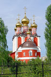 Temple  new martyrs and confessors russian, Cheboksary. Royalty Free Stock Photo
