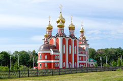 Temple  new martyrs and confessors russian, Cheboksary. Stock Images