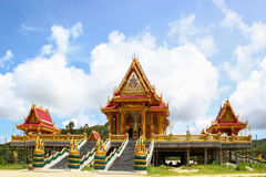Temple. The new tample in Ranong Thailand Royalty Free Stock Image