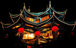 temple at night Royalty Free Stock Photos