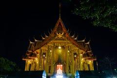 Temple. At night , Bangkok Stock Photos
