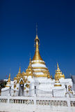 Temple in Northern Thailand. Royalty Free Stock Images