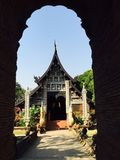 Temple in Northern of Thailand. The region older temple Lanna thai style Stock Photography