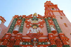 Temple of nuestra senora de la merced II Royalty Free Stock Photo