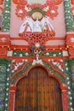 Temple of nuestra senora de la merced IV. Temple of nuestra senora de la merced, city of atlixco, mexican state of Puebla royalty free stock photography