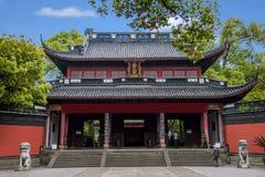 Temple occidental Yue Wang de lac hangzhou Photos stock