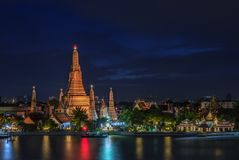 Temple Of Dawn Or Wat Arun In Bangkok, Thailand Royalty Free Stock Photo