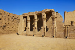 Temple Of Edfu Royalty Free Stock Photo