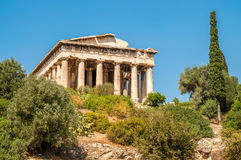 Temple Of Hephaistos Royalty Free Stock Photography