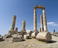 Free Temple Of Hercules In Amman Ci Royalty Free Stock Images - 3725089