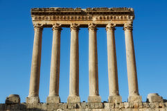 Free Temple Of Jupiter In Baalbek Stock Images - 9660414
