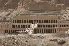 Temple Of The Queen Hatshepsut Stock Photography