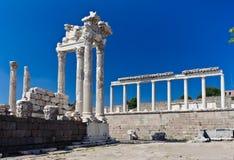 Temple Of Trajan Royalty Free Stock Photo