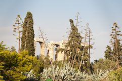 Temple of Olimpian Zeus, Athens, Greece Stock Photos