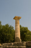 Temple Olympia Stock Photography